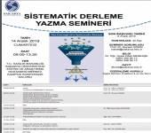 Sistematik Derleme Yazma Semineri
