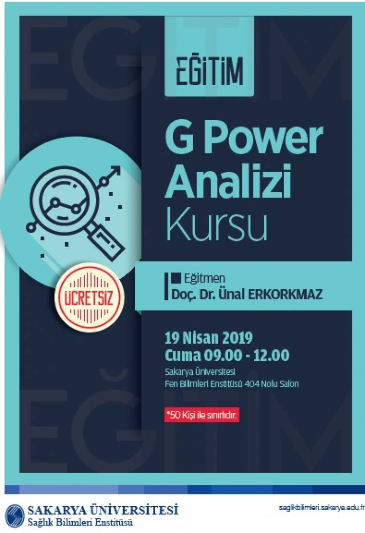 G Power Analizi Kursu